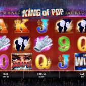 michael jackson king of pop slot main game