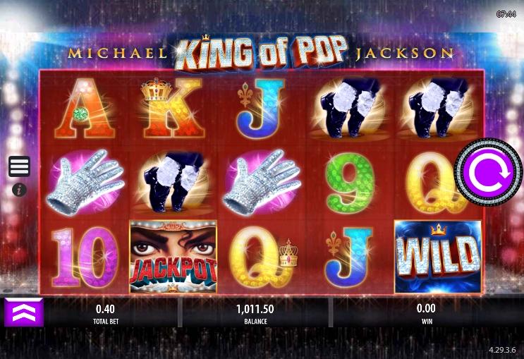 Michael Jackson King of Pop Slot No Download