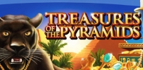 Cover art for Treasures of the Pyramids slot