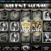 silent movie slot main game