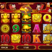 88 Fortunes slot main game