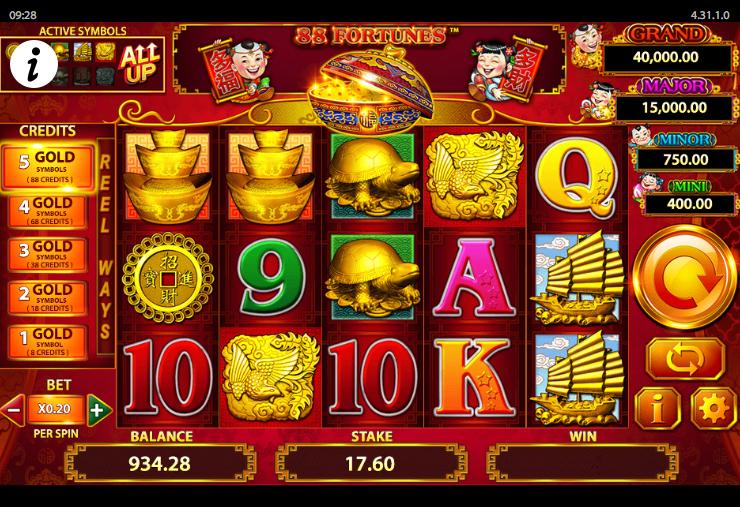 88 Fortunes online, free Slot Casino Games