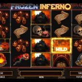 frozen inferno slot main game