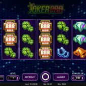 joker pro slot main game