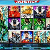 justice league slot main game