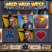 wild wild west slot main game