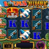 worms reloaded slot main game