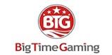 Big Time Gaming slot developer logo