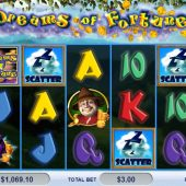 dreams of fortune slot main game
