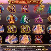 glorious empire slot main game