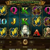 skulls of legend slot main game