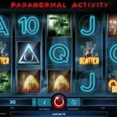 paranormal activity slot main game