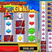rainbow riches reels of gold slot main game