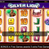 silver lion slot main game