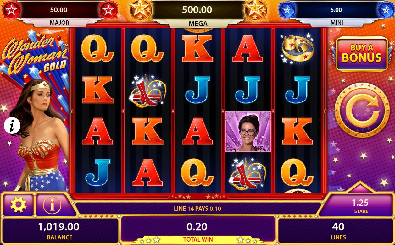 Wonder Woman Casino Game