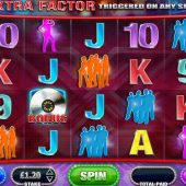 x factor platinum slot main game