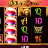 autumn queen slot main page