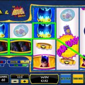 batman and the bat girl bonanza slot main game