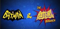 batman and the batgirl bonanza slot logo