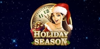 holiday season slot logo