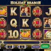 holiday season slot main game
