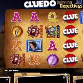 cluedo spinning detectives slot main game