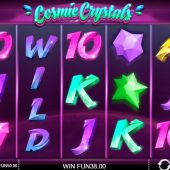 cosmic crystals slot main game