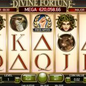 divine fortune slot main game