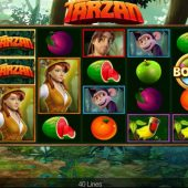 tarzan slot main game