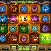 alchymedes slot main game