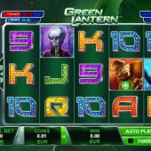 green lantern slot main game