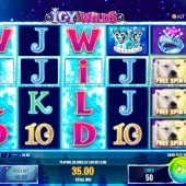 icy wilds slot main game