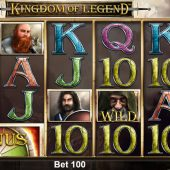 kingdom of legend slot main game
