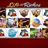 life of riches slot main game