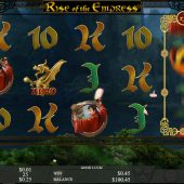 rise of the empress slot main game