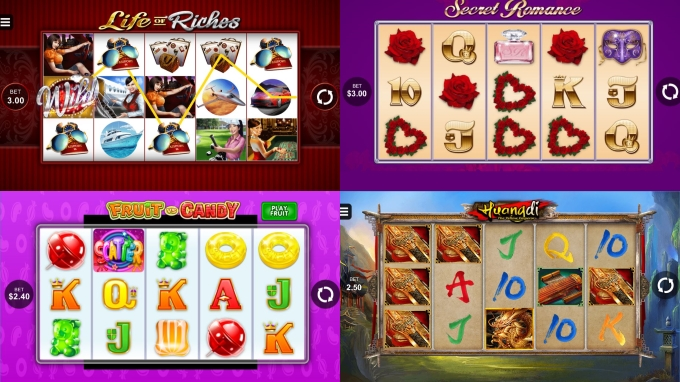 4 new releases microgaming in January 2017