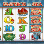 emperor of the sea slot main game