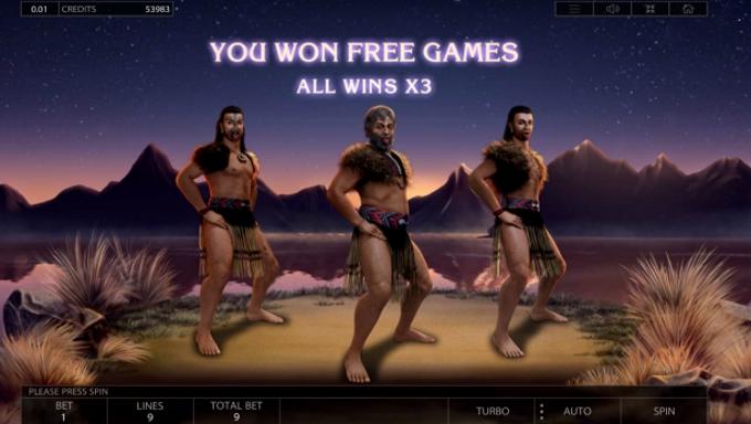 endorphina maori slot bonus round
