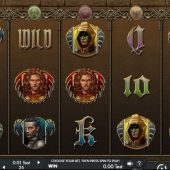 game of swords video slot main game