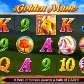 golden mane slot main game