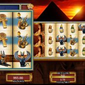 lady of egypt slot main game
