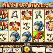 medieval money slot main game