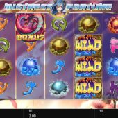 mistress of fortune slot main game