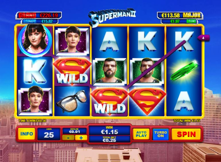 Play Superman Slot Online