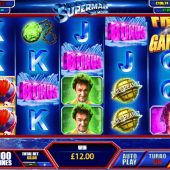 superman the movie slot main game