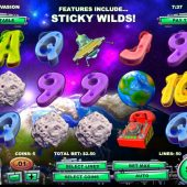 alien spinvasion slot main game