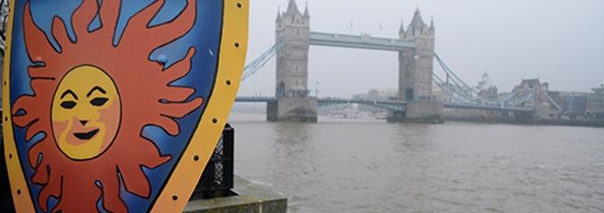casinomeister shield near tower bridge