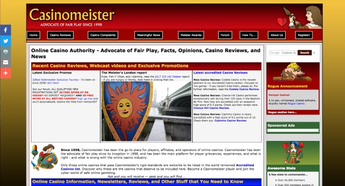 old casinomeister website