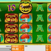 leprechaun hills slot main game