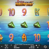 lucky dragon boat slot main game